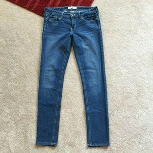 Hollister Juniors 7R Denim Skinny Jeans